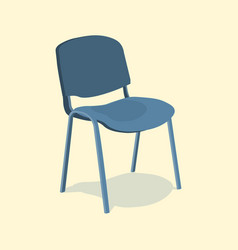 chair detailed single object realistic design vector image vector image