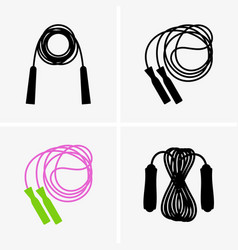 skipping rope vector image