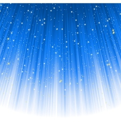stars descending vector image vector image