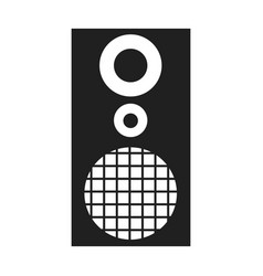 speaker sound music volume vector image