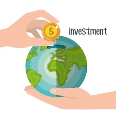 Money savings and investments vector