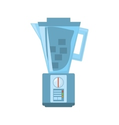 Blender kitchen home appliance icon vector