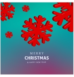 Happy holidays merry christmas and happy new year vector
