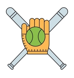 Sport team baseball vector