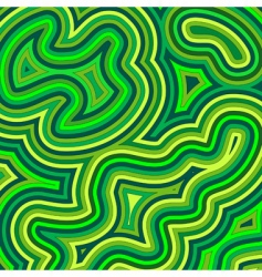 swirly shades of green vector image