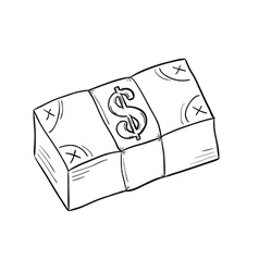 Sketch of money vector