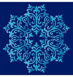 Antique ottoman turkish pattern design sixty one vector