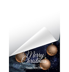 Background for christmas card vector