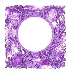 Fairy hand drawn doodle style pink mistery vector image vector image