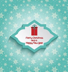 merry christmas and new year background 1010 vector image