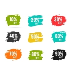 Christmas sale percents new year black friday vector