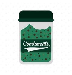 condiments icon design vector image