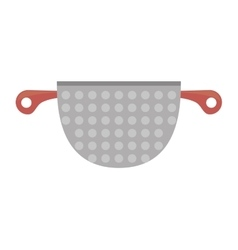 kitchen cookware pot tool vector image