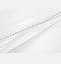 white and grey abstract stripes concept background vector image