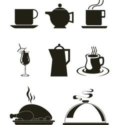 Kitchen wares vector