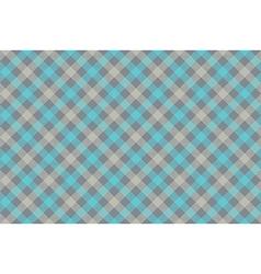 Grayblue check diagonal fabric texture background vector image