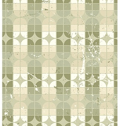 Vintage neutral geometric seamless pattern stained vector