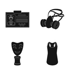 clos service and or web icon in black styleater vector image