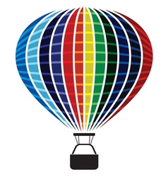 Colored Air balloon vector image vector image