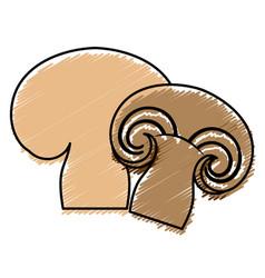 Mushroom icon image vector