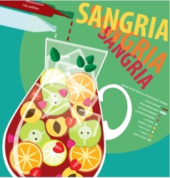 Sangria vector image