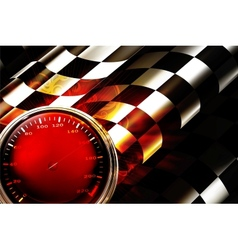 Racing background horizontal vector