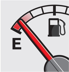 Car Gas tank Indicator vector image