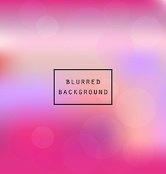 Colorful smooth gradient blur pink abstract vector