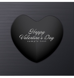Dark Valentine Background vector image vector image