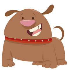 Dog pet animal character vector