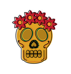 Mexico culture icon image vector