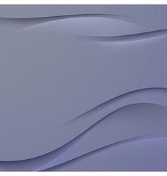 Transparent dark blue smooth satin line background vector