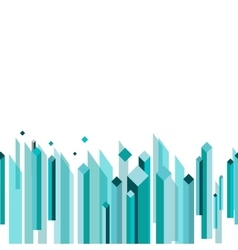 Seamless Business Border vector image