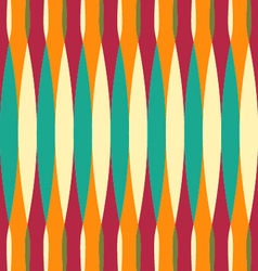 Curves pattern vintage tone vector