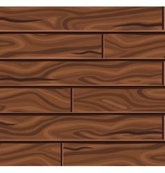 Wooden horizontal planks background vector