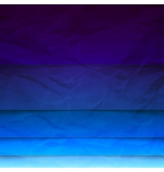 Abstract blue paper rectangle shapes background vector image