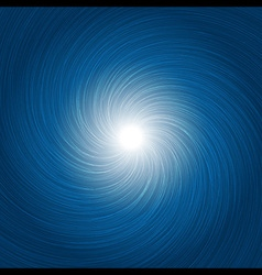 Abstract Cyclone Background Blue vector image