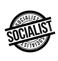 Socialist rubber stamp vector