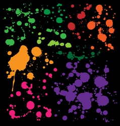 Splats preview vector
