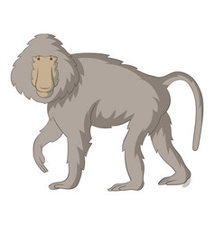 Baboons icon cartoon style vector