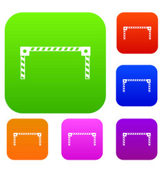 Barrier set collection vector