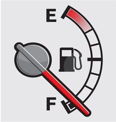 Car Gas tank Indicator vector image vector image