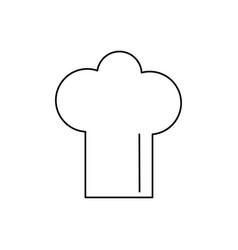 Cheff hat icon vector
