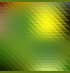 green and yellow background of the segments vector image vector image