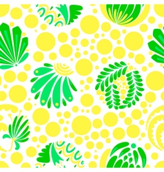 pattern with dots vector image vector image