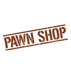 Pawn shop stamp vector