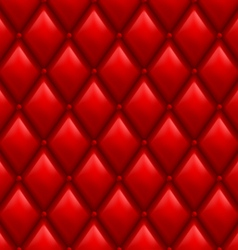 Red Leather Background vector image vector image