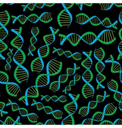 Dark dna seamless pattern eps10 vector
