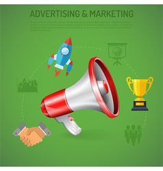 Business advertising and marketing poster vector