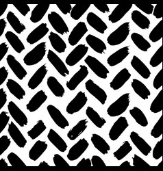 ink abstract seamless pattern background with vector image